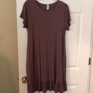 MTS jersey knit dress size L